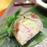 四季ごはん 晴れ間。 - 秋刀魚の一口棒寿司