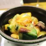 四季ごはん 晴れ間。 - 旬野菜と生麩の胡麻味噌グラタン