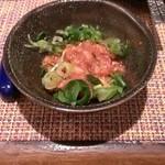 焼鳥と韓国料理 人生の楽園 - チャンジャ