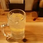 串屋横丁 - レモンサワー