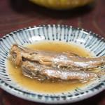 ひみ浜 - 2)鰯の酢煮