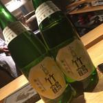焼鳥 市松 - 竹鶴 日本酒
