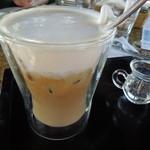 水湾 Bali景観餐廳 - アイスカフェラテ