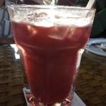 水湾 Bali景観餐廳 - アイスブラックカラントティ