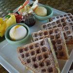 水湾 Bali景観餐廳 - ホームメイドワッフル