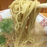 33998887 - ハイ、細麺ストレート〜(^^)