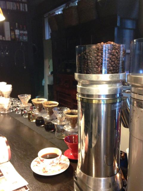 カンダコーヒー - 一杯づつのペーパードリップです
