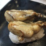 丸寿司 - かきの炙り