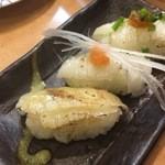丸寿司 - エンガワ3点盛り
