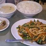 芙蓉菜館 - Aランチ