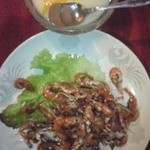 紅龍 - 川エビの中華冷菜と杏仁豆腐