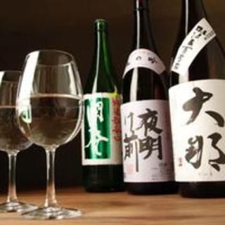 【牡蠣に合う】をコンセプトに希少な地酒など様々なお酒をご用意