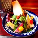 旬の素材レストラン Fuji - [たかつコース]サラダ