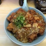 ポパイ - 唐揚げ丼(並サイズ)