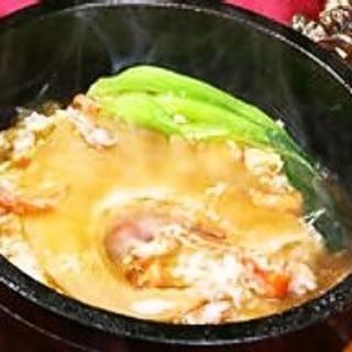 フカヒレ大好評の石焼フカヒレ炒飯!