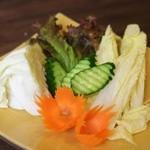 大阪カオマンガイカフェ - 今日のお野菜