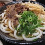 34005072 - 牛肉うどん (中) ¥500-