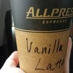 グッドラックコーヒー - vanilla latte