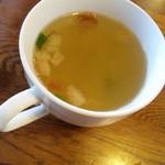 来゛留芽 - スープが付きます