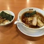 34007024 - 中華そば&玉丼。