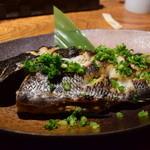 ガオリュウ - 黒鯛のねぎ味噌焼き