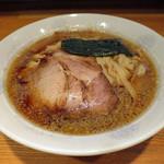 麺匠 四神伝 - 漢の背脂煮干し中華そば 並(180g)