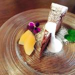 カフェ セキミヤ - 料理写真:ガトーショコラ^ - ^