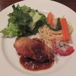 ノザンセートル ドゥ ドゥマン - 若鶏の香草焼き