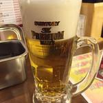 満マル - 2015.01. 2杯目 泡多い
