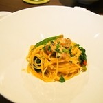 Ristorante Heiju - 丹波鶏のオイルベーススパゲティ
