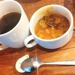 バルケッタ - ホットコーヒー・スープ