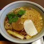 砂場 - タヌキ・・・750円 美味しかった!!!
