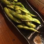 ろっきー - 枝豆のペペロンチーノ?だったかな