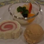 ひだホテルプラザ - デザート【2014.12月】