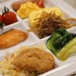 ひだホテルプラザ - モーニングビュッフェ【2014.12月】