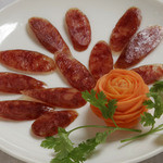 サイゴン・レストラン - 豚の腸詰め