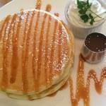 コラソンカフェ - 塩キャラメルパンケーキ