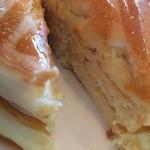 コラソンカフェ - 塩キャラメルパンケーキ断面