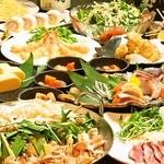 竹取の桜花 - コースは全て飲み放題付きで3000円からご用意しております。