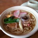 冨士屋 - 料理写真:鍋焼うどん[\500]