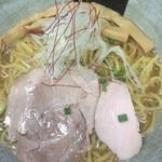 麺こい・わ - ランチセットの麺、塩らーめん大盛り