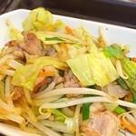 宝来軒 - ランチセットの肉野菜