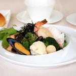 レストラン ラグラース - 魚介類の素焼き