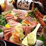 松山個室居酒屋 月の都 - ャズを聴きながらゆったりお酒。スタイリッシュ和空間を満喫
