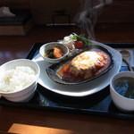 道草 - 料理写真:イタリアンハンバーグ(1200円)