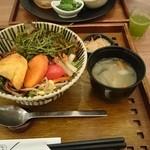 玄三庵  - 野菜たっぷりびびんどん