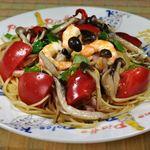 イタリアン厨房 マデーニ - まるごと!フレッシュトマトのペペロンチーニ