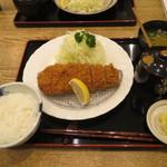 tonkatsumaisen - 沖田黒豚ロースかつ膳