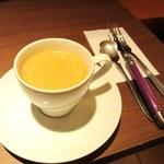 ニコラハウス - コーヒー、カトラリーはラギオール