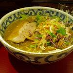 らー麺屋 バリバリジョニー - タイ風グリーンカレーラーメン 850円